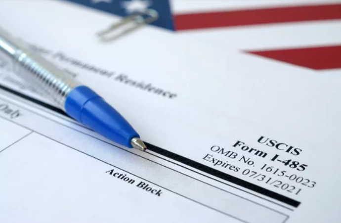 Form I-485 for green card approval