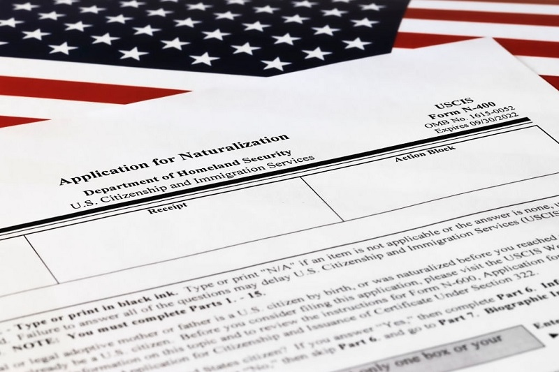 Form N-400 for citizenship